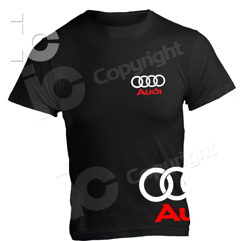 t shirt audi racing maglia tt a3 a4 a6 rs. Black Bedroom Furniture Sets. Home Design Ideas