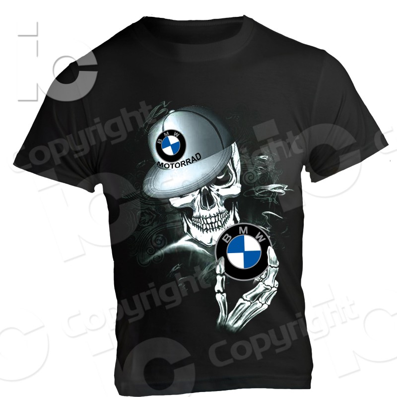 t shirt bmw motorrad skull r 1200 gs f 800 s 1000 rr. Black Bedroom Furniture Sets. Home Design Ideas