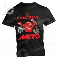 T-shirt Cagiva Mito 125 2T anni 90 Legend CRC 2 stroke Racing Vintage