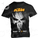 T-shirt KTM Racing Duke Super Duke Punisher Maglia Exc Cross Enduro Supermotard