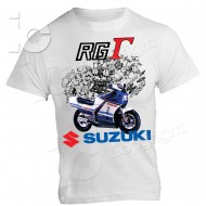 T-Shirt Suzuki RG GAMMA 500 Due Tempi two stroke Racing Story Kevin Schwantz