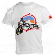 T-Shirt Africa Twin Honda Legend Crf 1000 Enduro Strada Uomo Donna Turismo off