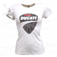T-Shirt Ducati Multistrada Desmo Donna Racing Power 1200 1260 Travel Maglia Woman