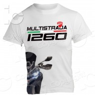 T-Shirt Ducati Multistrada 1260 desmo racing Turismo Desmo Power Travel maglia