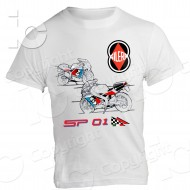 T-Shirt Gilera SP 01 125 2T maglietta two stroke made in italy Arcore 80's