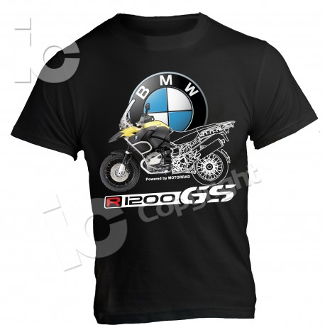 T-Shirt BMW GS 1200 power by Motorrad Adventure Outdoor Africa Gs enduro Turismo
