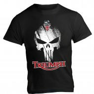 T-Shirt Triumph Moto Scrambler Punisher Tiger Speed Triple
