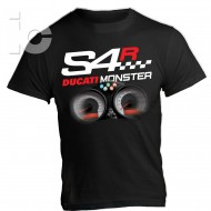 T-Shirt Ducati Monster S4R 916 996 998 Naked Racing Pista Moto