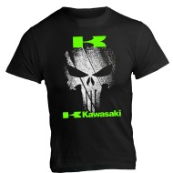 T-shirt Kawasaki Punisher ZX6R ZX10R z1000 z900 Versys